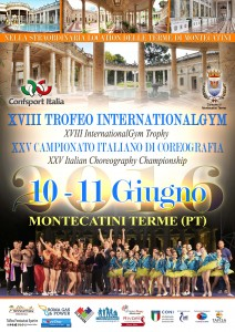 LOCANDINA_XVIII Trofeo InternationalGym-XXV CampCoreografia2