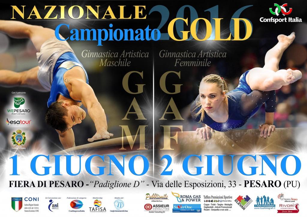 NAZIONALE GOLD GAM-GAF_GIUGNO2016