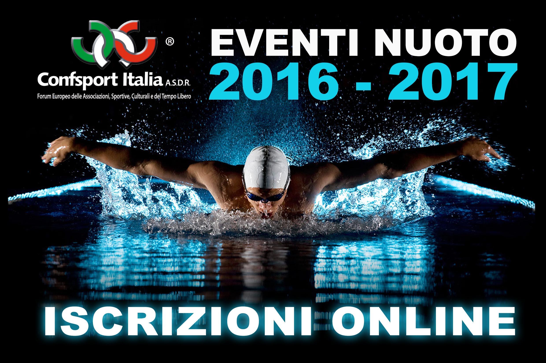 Eventi Nuoto 2016-2017