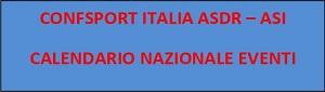 Calendario eventi nazionali